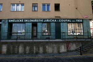 Umělecké sklenářství Jiřička-Coufal v Praze